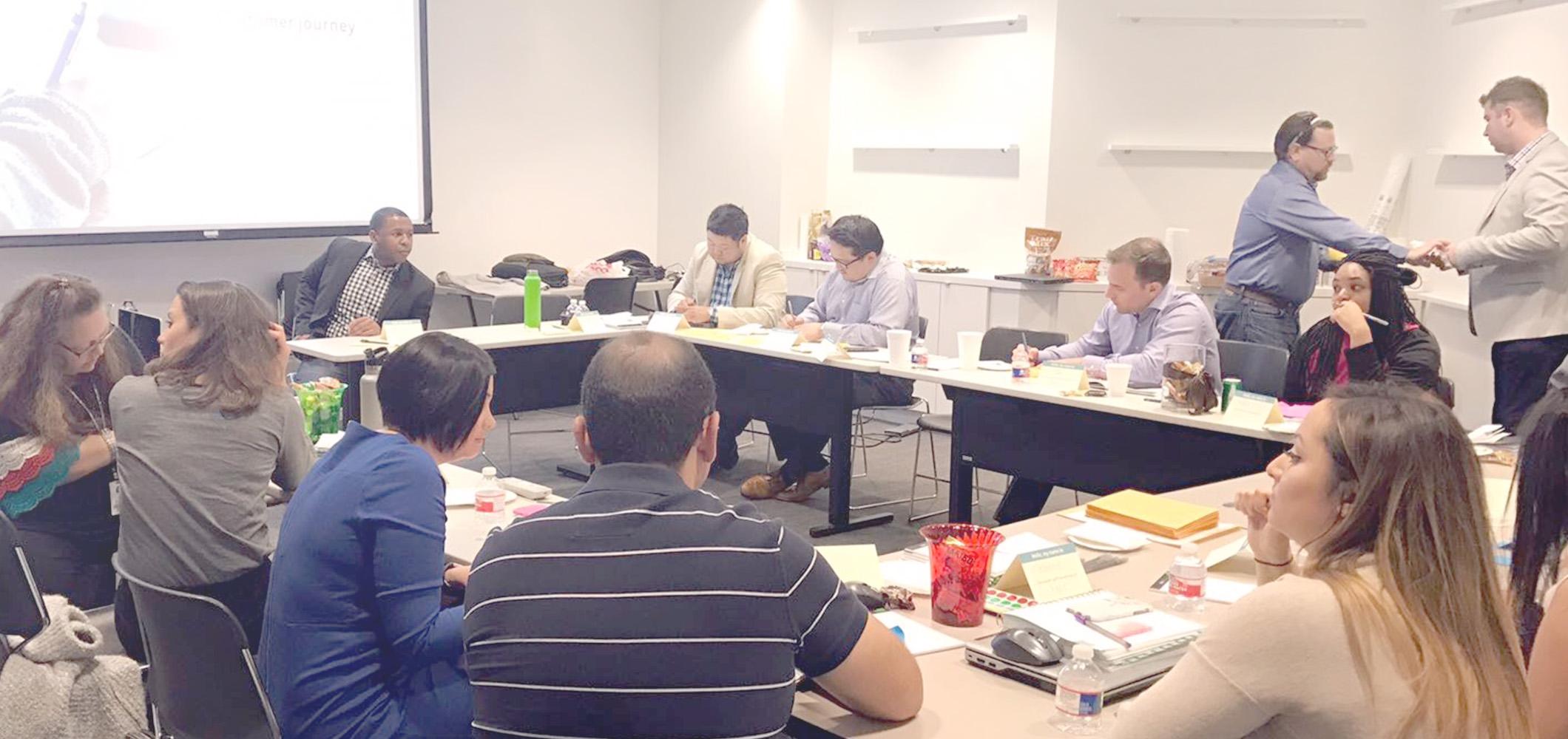 Workshop client session